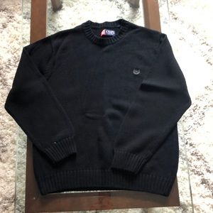 Chaps black sweater